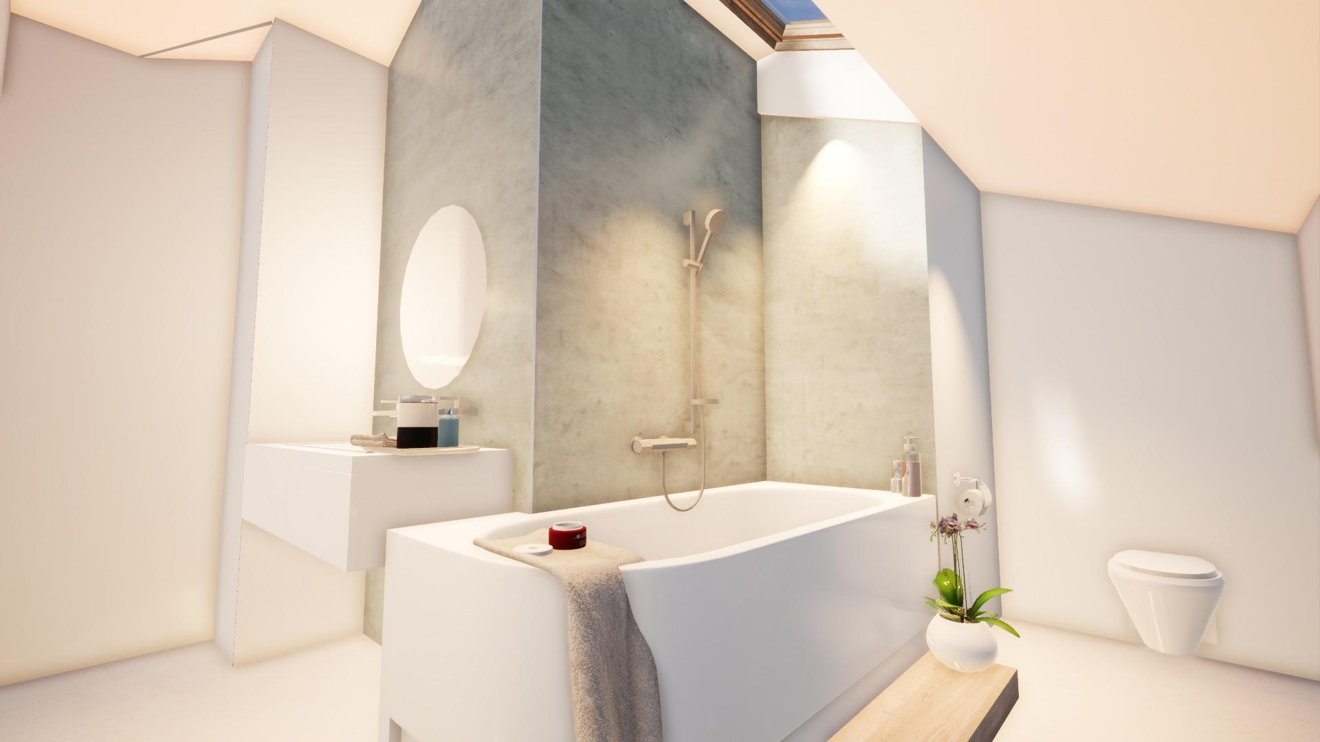 RÉNOVATION ET EXTENSION D'UNE MAISON au Pays Basque - photo salle de bain