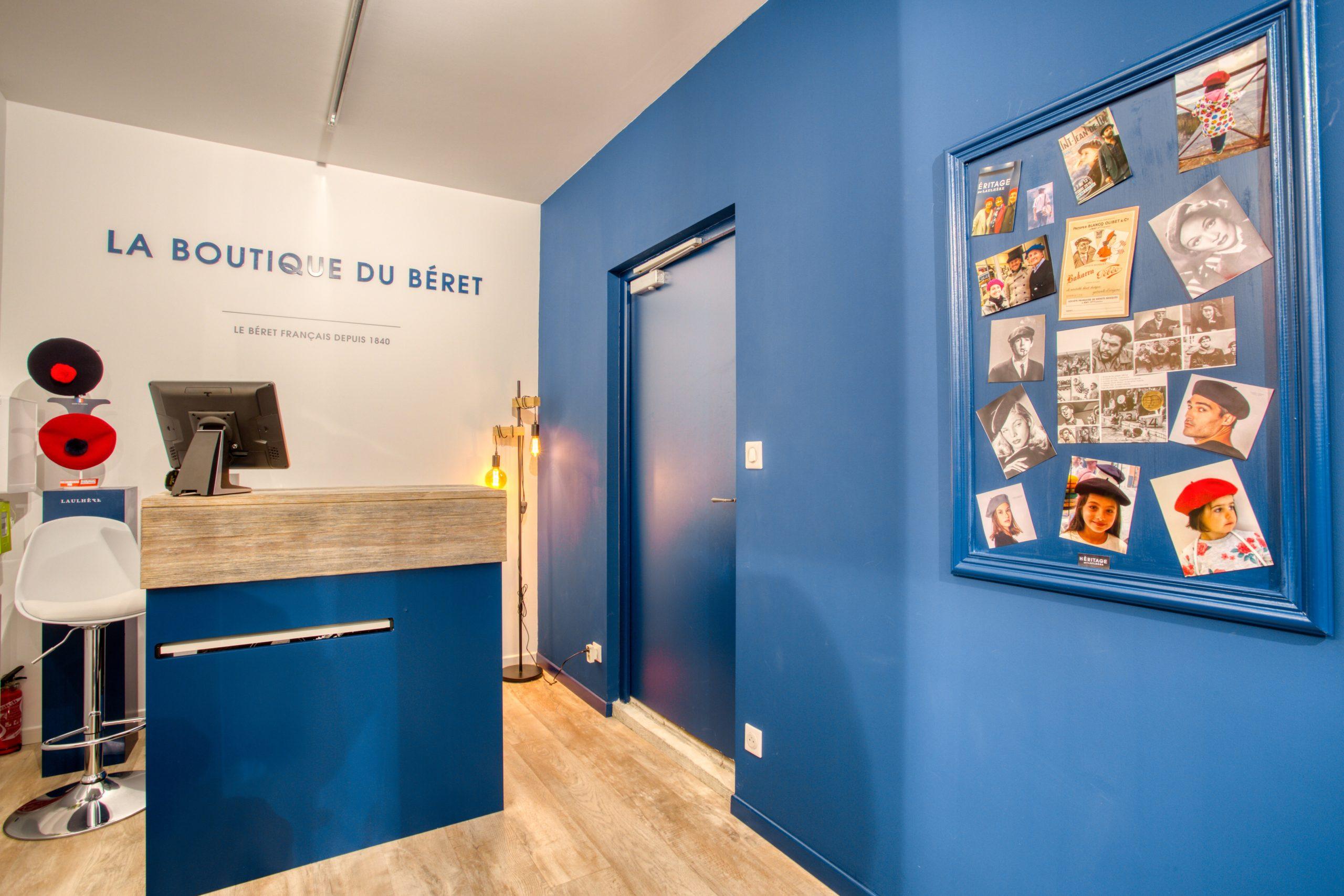 Atelier Plurielles Architectures - Aménagement Boutique Bayonne - Le Béret Basque - intérieur boutique 9