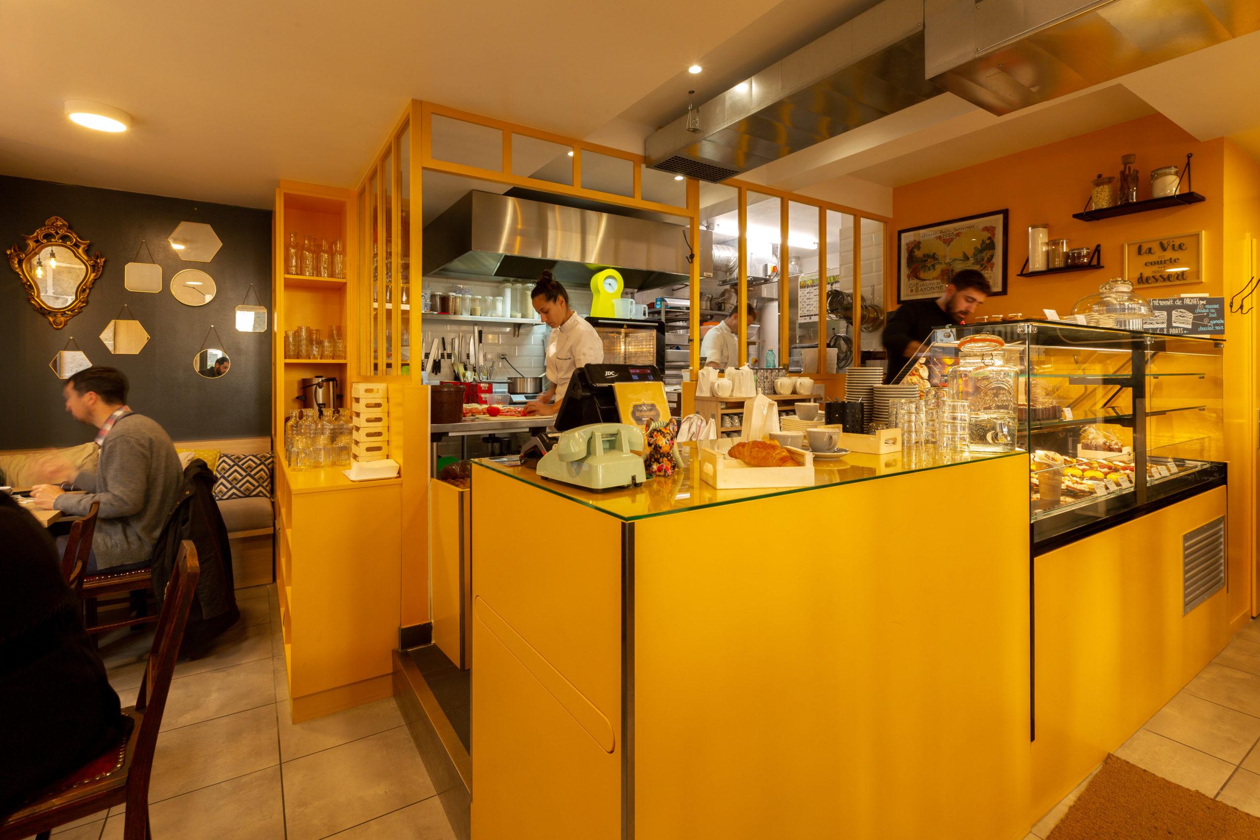 Atelier-Plurielles-Architectures-Aménagement-patisserie-Bayonne-coté cuisine