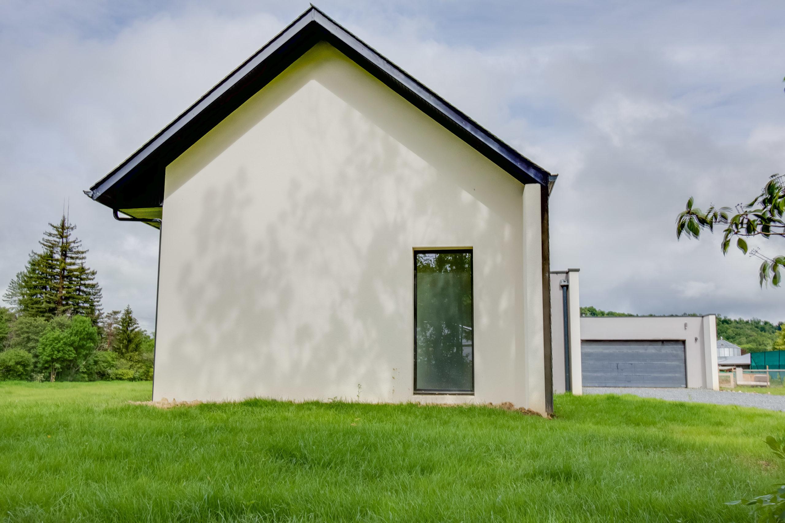 Atelier-Plurielles-architectures-construction-maison-Bearn-vue de coté