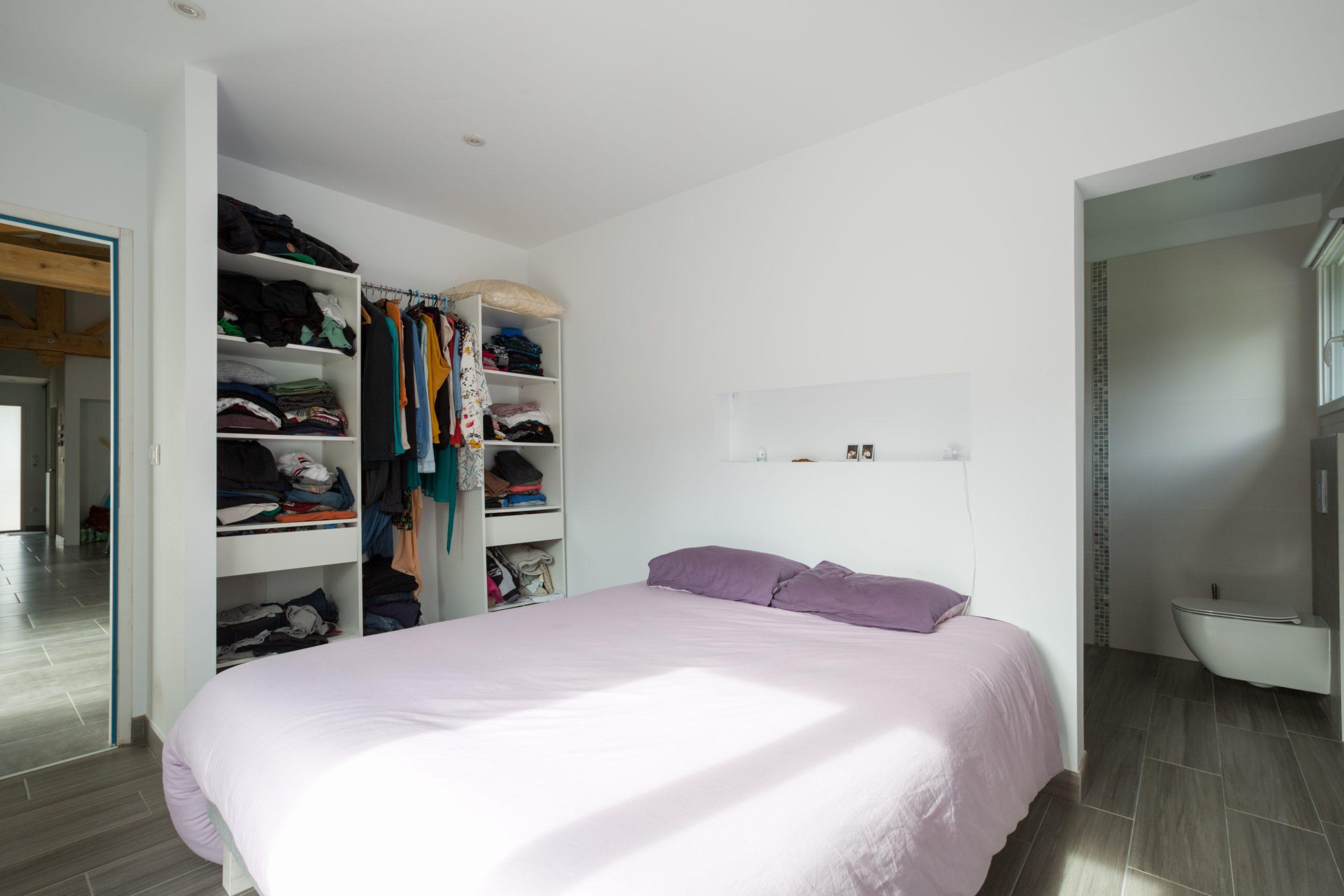 Atelier Plurielles Architectures - Maison Basque à Briscous - chambre