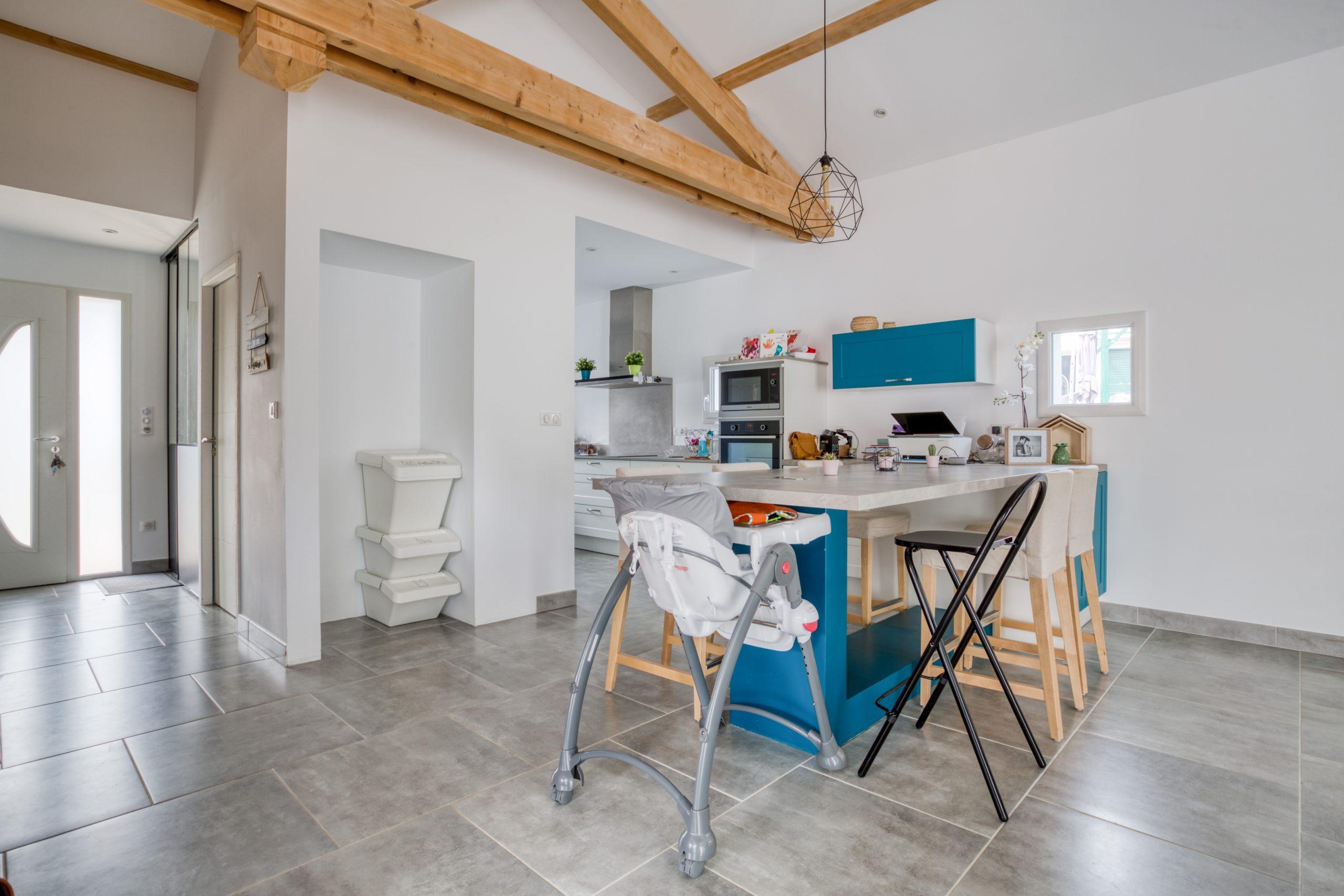 Atelier Plurielles Architectures - Maison Basque à Briscous - cuisine 1