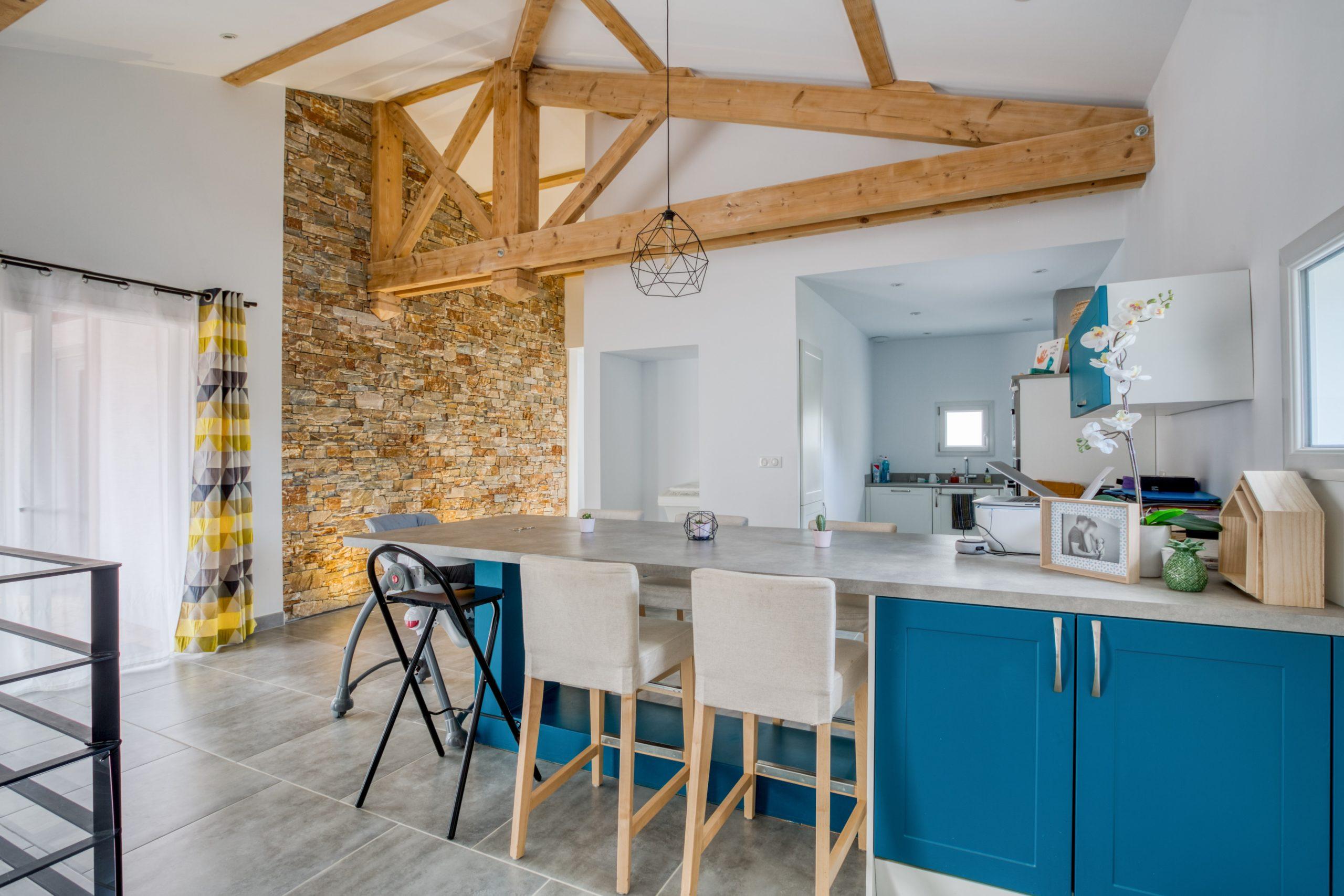Atelier Plurielles Architectures - Maison Basque à Briscous - cuisine 2