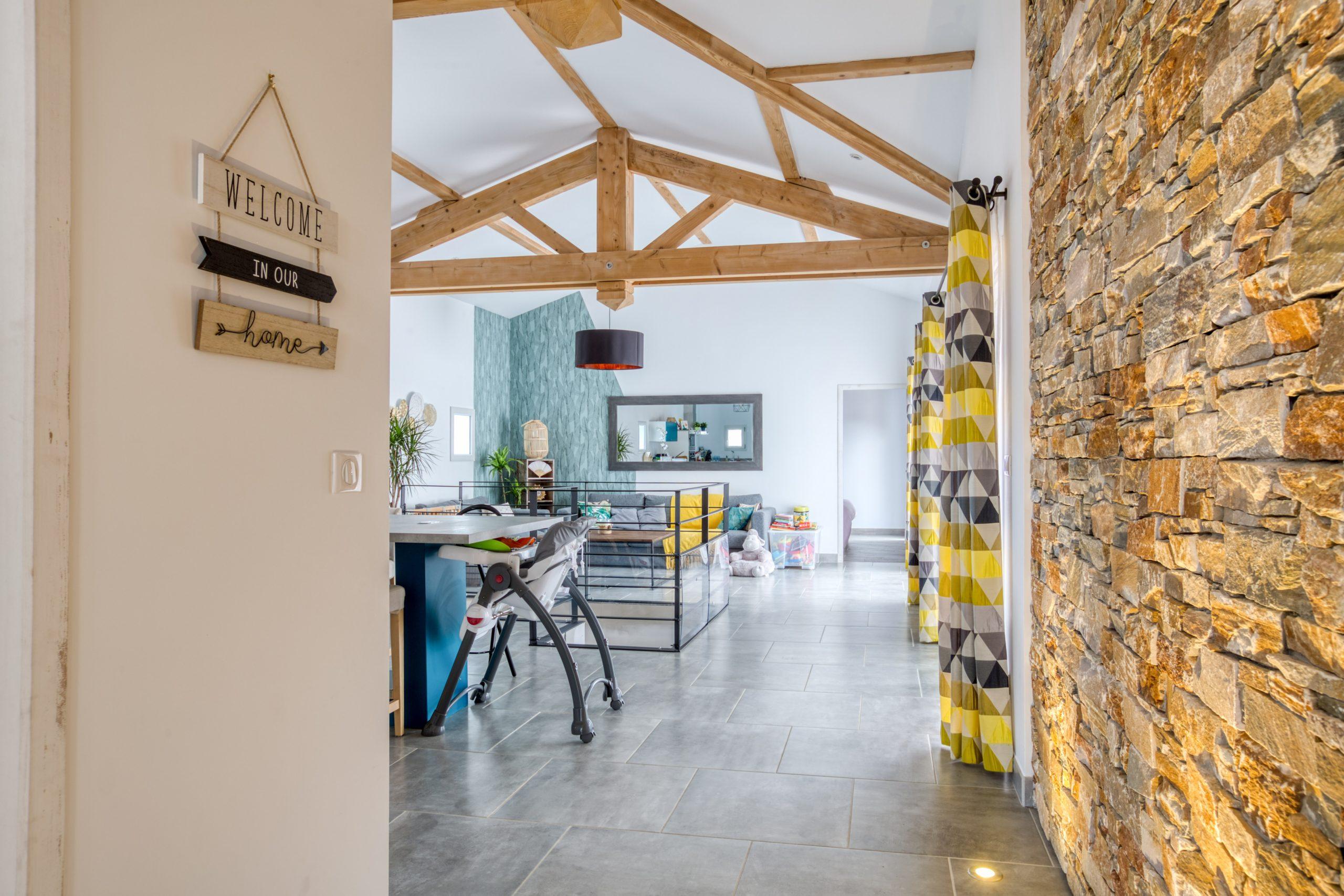 Atelier Plurielles Architectures - Maison Basque à Briscous - entrée