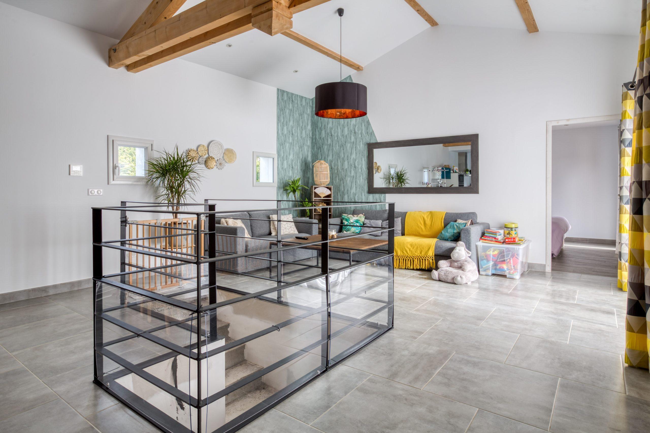 Atelier Plurielles Architectures - Maison Basque à Briscous - séjour