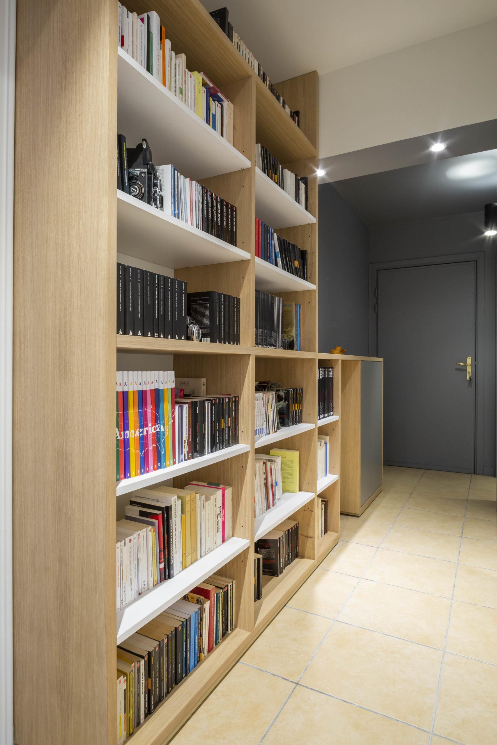 Atelier Plurielles Architectures Réaménagement appartement Anglet - rangement