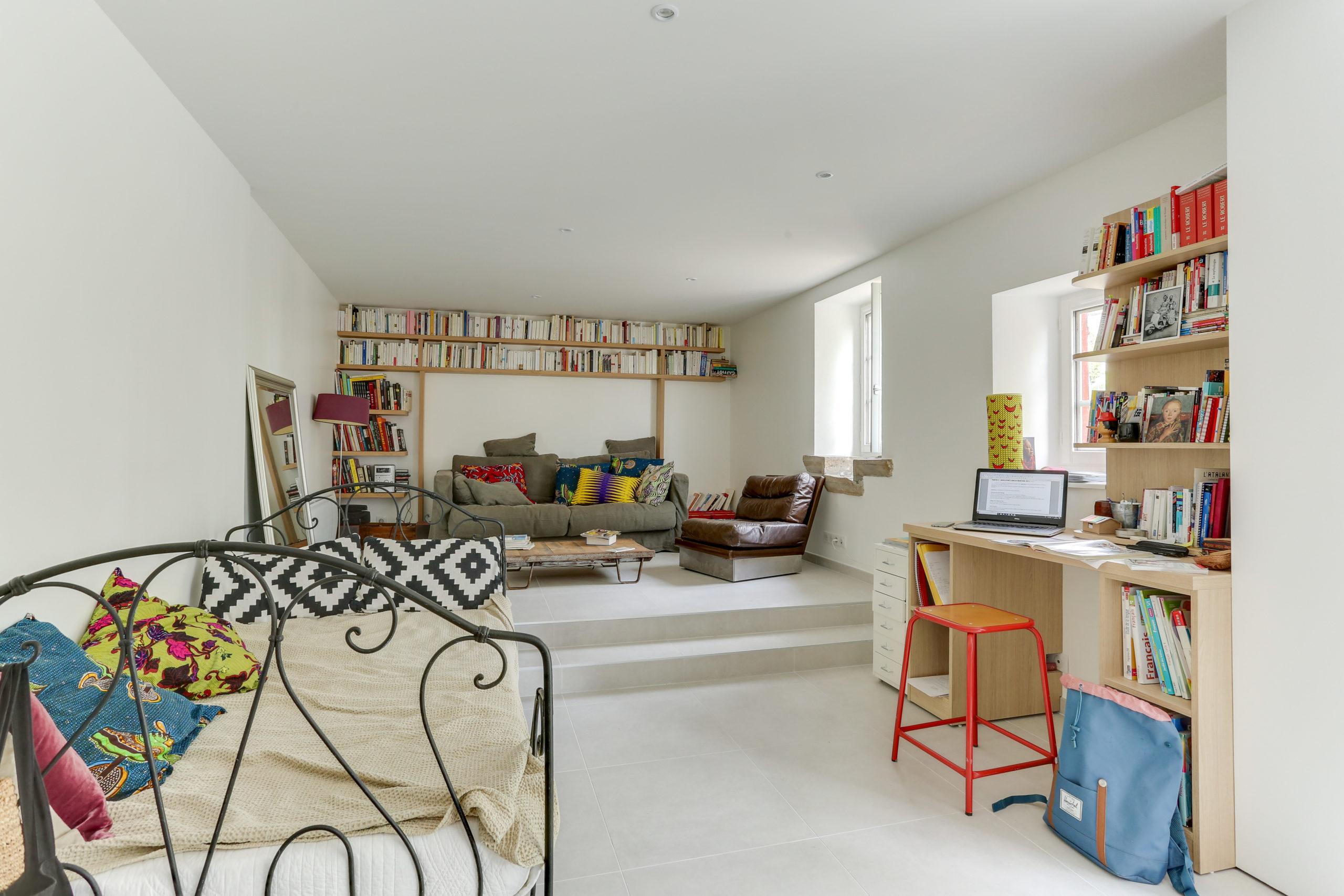 Atelier Plurielles Architectures -renovation-appartement-Ahetze-bureau