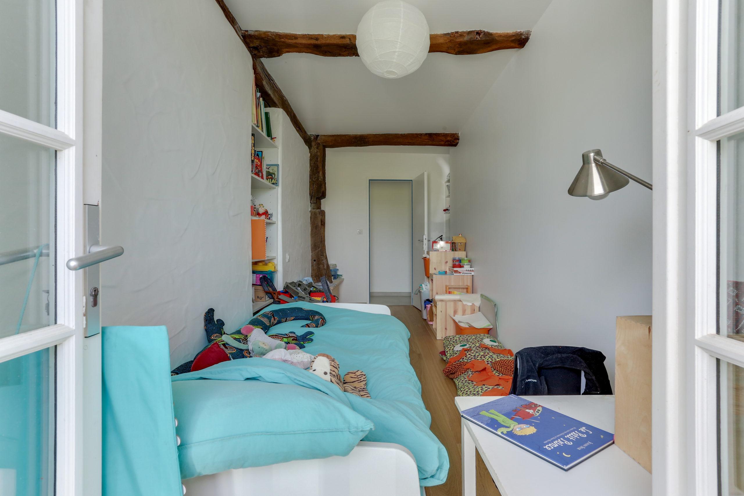 Atelier Plurielles Architectures -renovation-appartement-Ahetze-chambre enfant