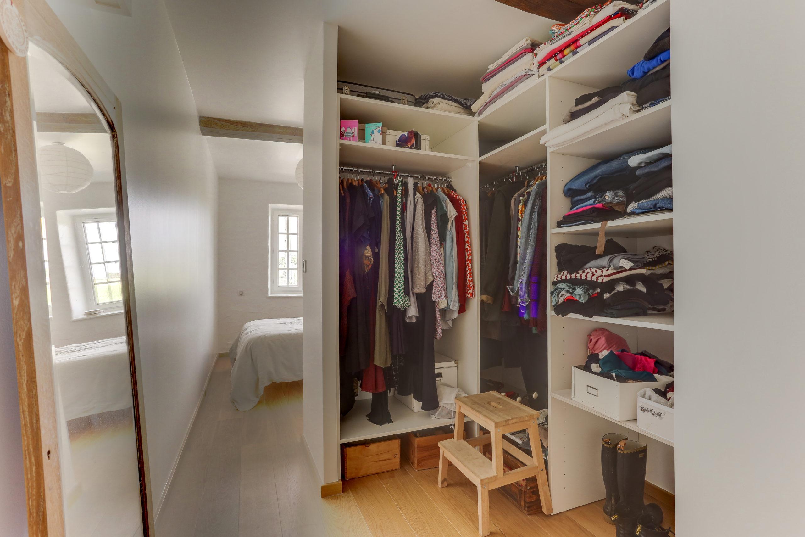 Atelier Plurielles Architectures -renovation-appartement-Ahetze-dressing
