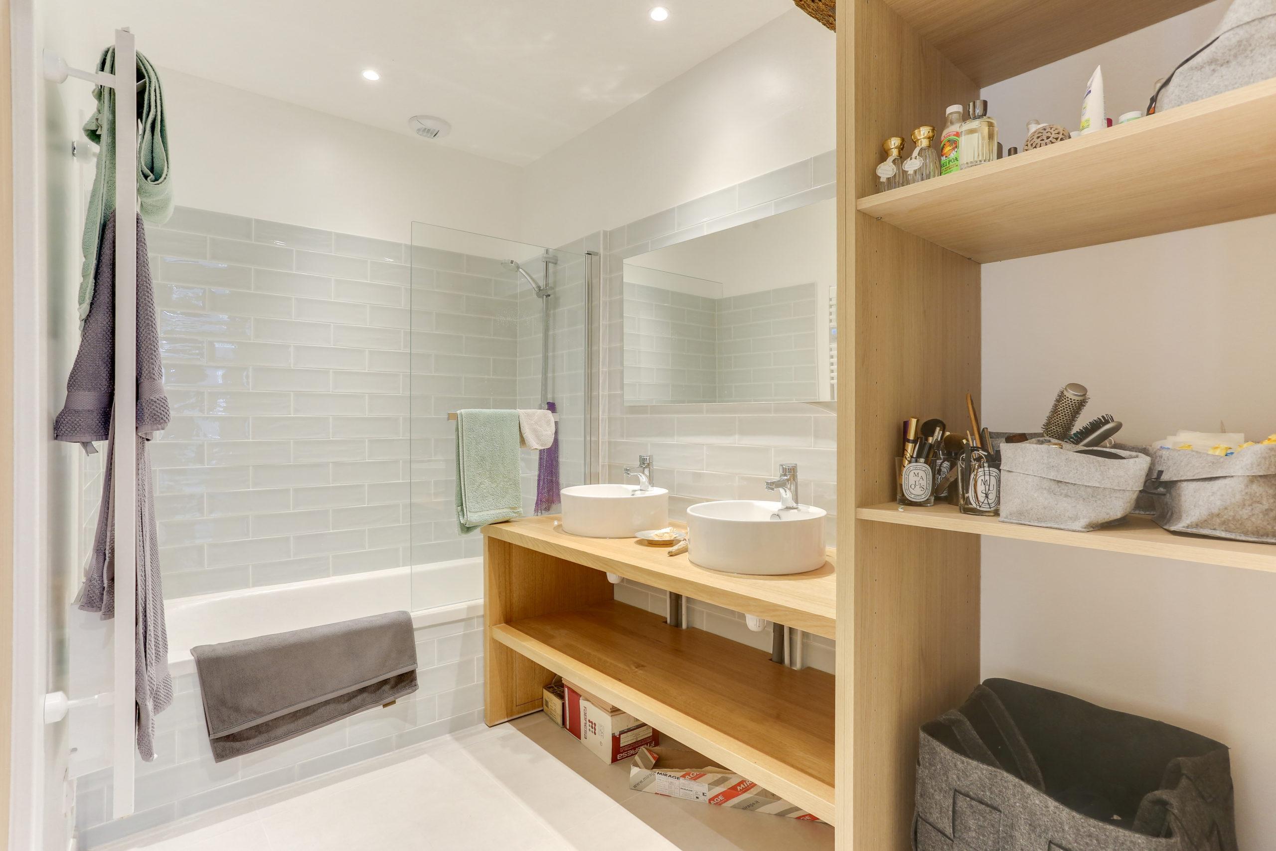 Atelier Plurielles Architectures -renovation-appartement-Ahetze-salle de bain