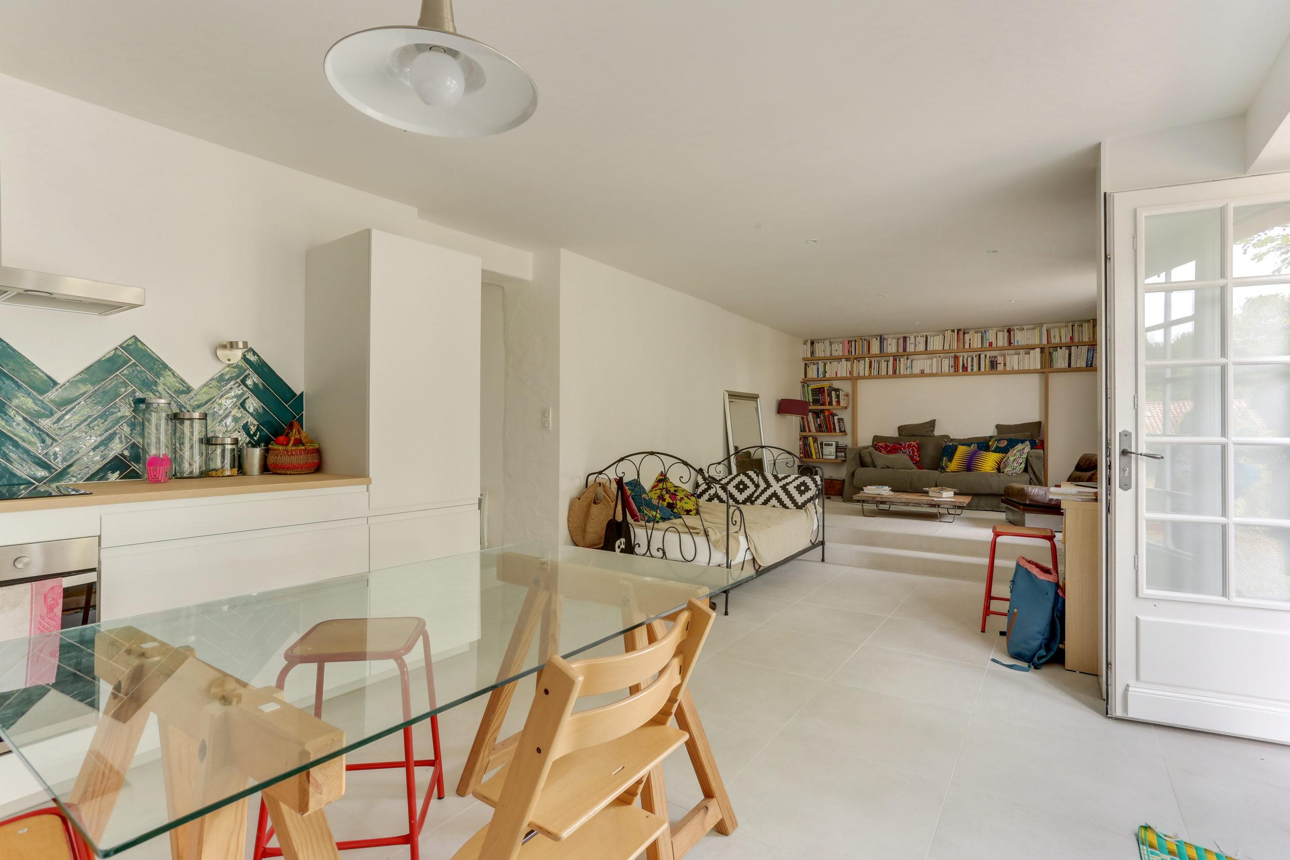 Atelier Plurielles Architectures -renovation-appartement-Ahetze-séjour