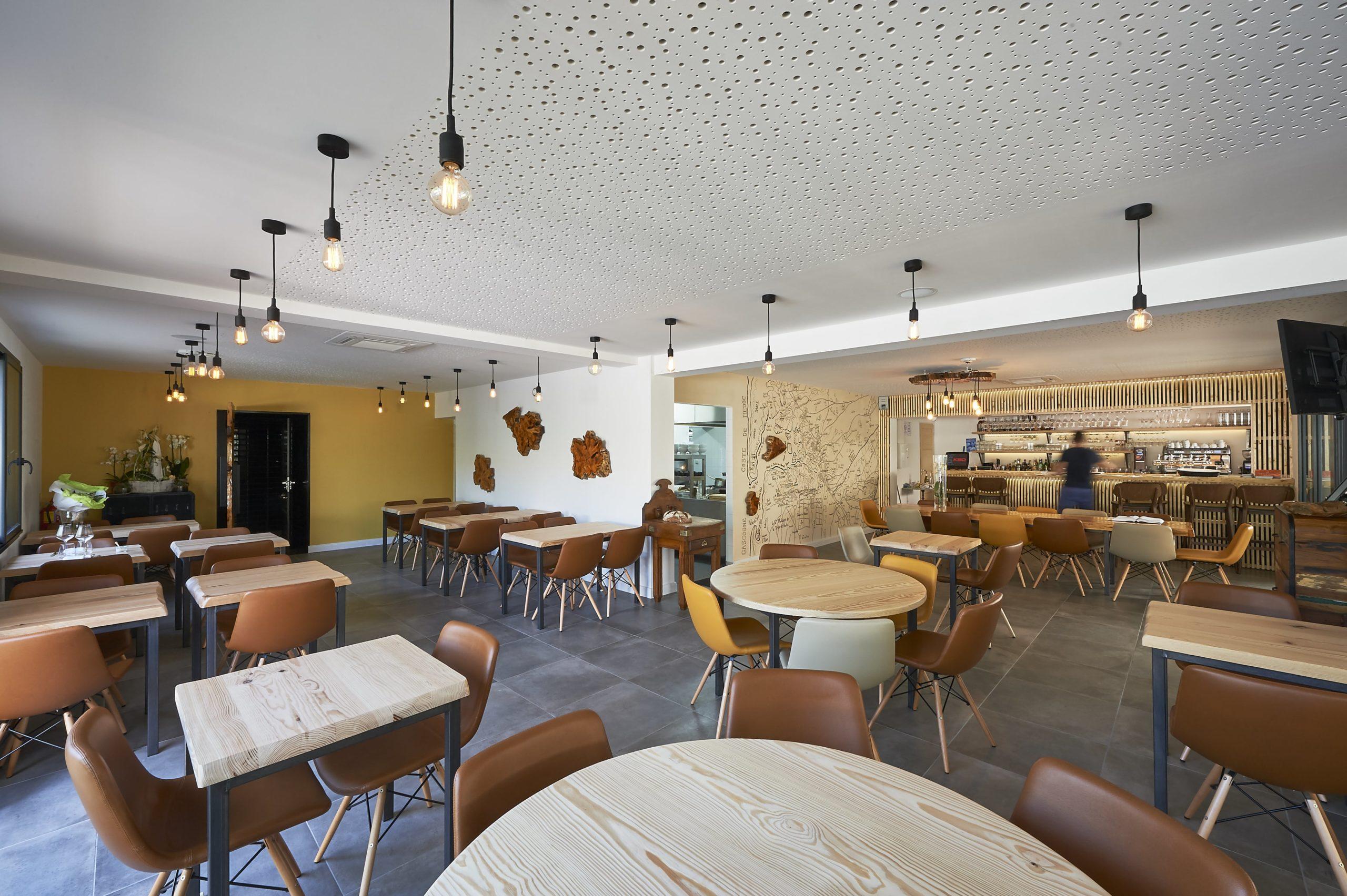 Atelier Plurielles Architectures Rénovation restaurant Gujan Mestras - intérieur